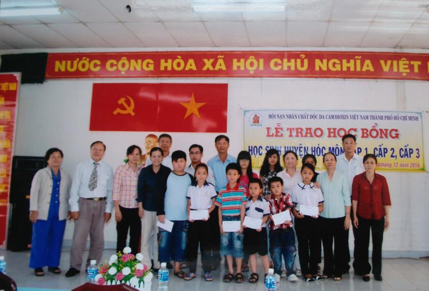 Lễ trao học bổng Huyện Hốc Môn cho các em cấp 1, 2 và 3