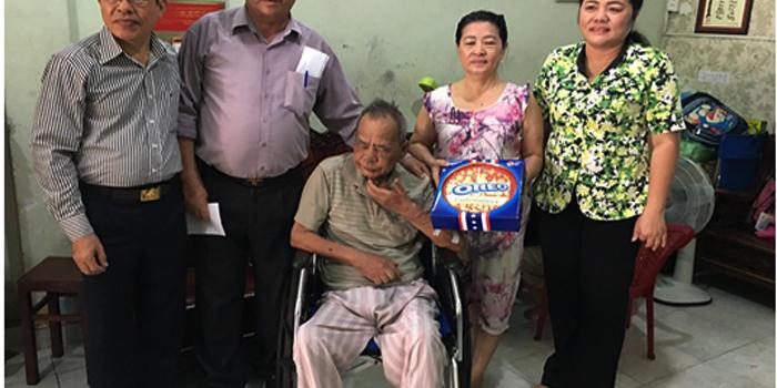 Quận Hội Phú Nhuận với công tác chăm lo đời sống nạn nhân chất độc da cam/dioxin nhân dịp kỷ niệm 56 năm Ngày thảm họa da cam ở Việt Nam  (10/8/1961 – 10/8/2017)
