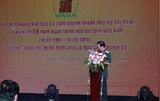 Hội nạn nhân chất độc da cam Tp. Hồ Chí Minh Kỷ niệm 58 năm thảm họa da cam ở Việt Nam